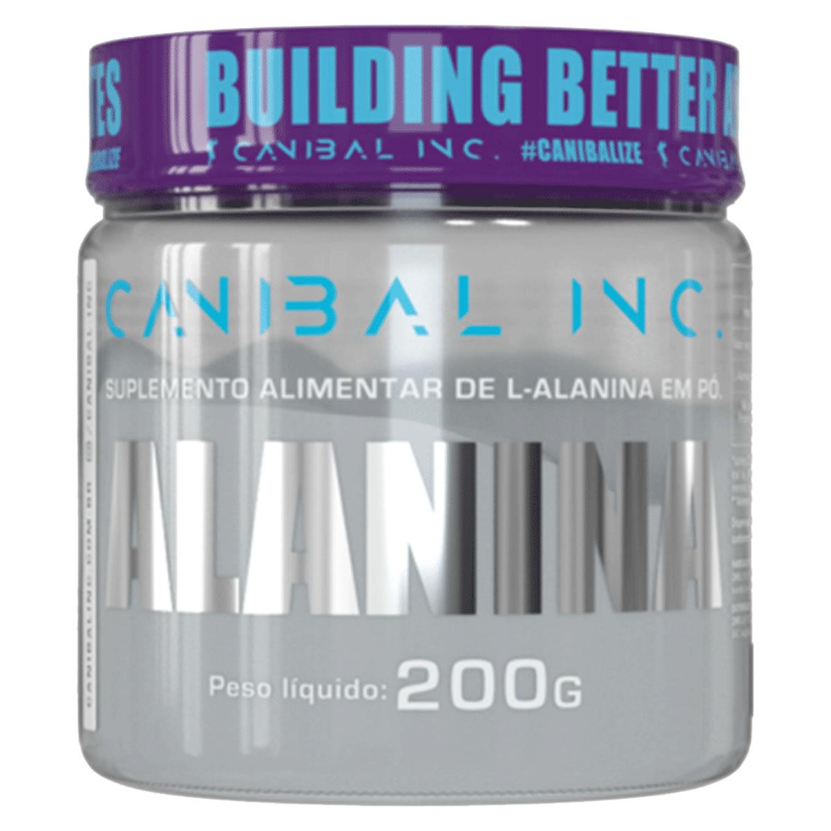 Alanina 200g - CANIBAL INC