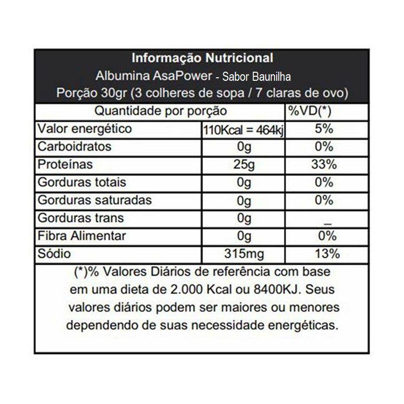 Albumina 500g - ASA