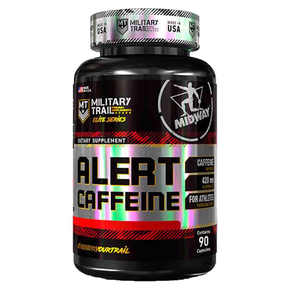 Alert Caffeine 420mg 90 cápsulas - Midway