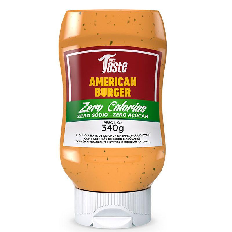 American Burguer 340g - Mrs Taste