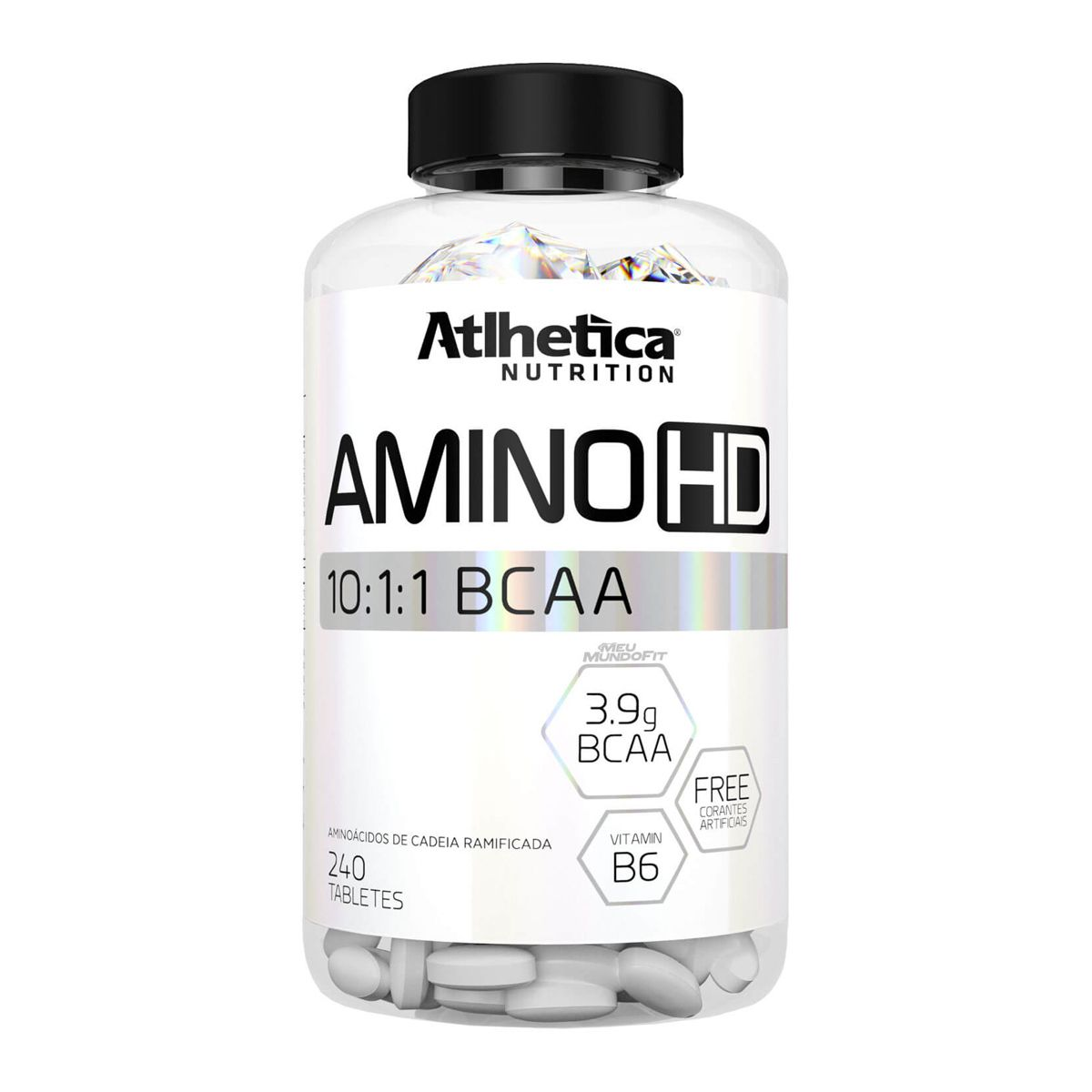 Amino HD 10:1:1 - 240 Tabletes - Atlhetica Nutrition