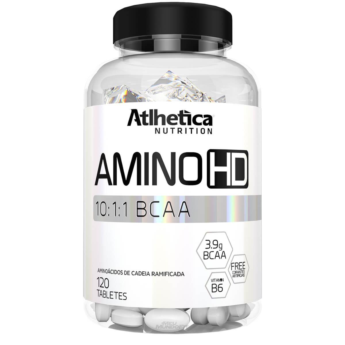 Amino HD 10:1:1 - 120 Tabletes - Atlhetica Nutrition