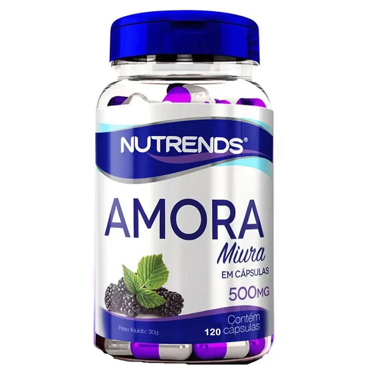 Amora Miura 120 Cápsulas- Nutrends