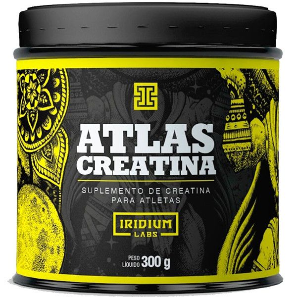 Atlas Creatina 300g - Iridium Labs