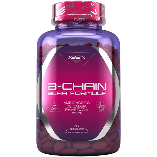 B-Chain BCAA 60 Cápsulas - Xgen Nutrition