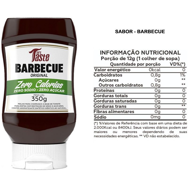 Barbecue 350g - Mrs Taste