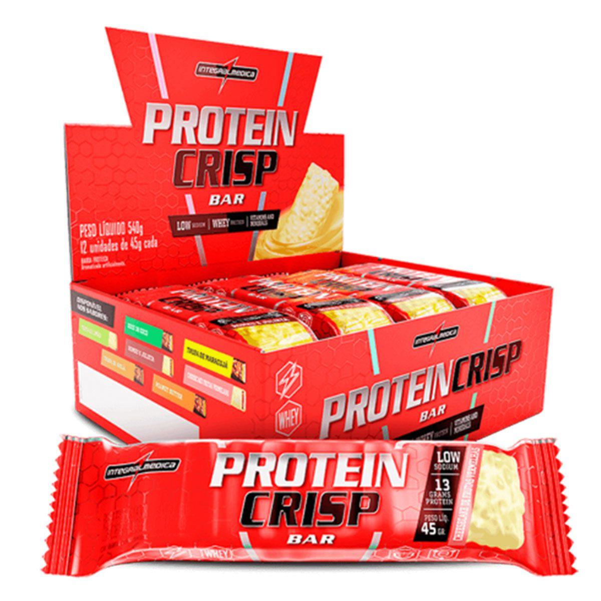Barra Protein Crisp 12 Unidades - Integral Médica