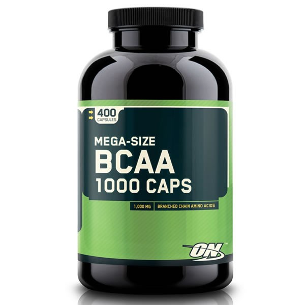 BCAA 1.000 400 Cápsulas - Optimum Nutrition