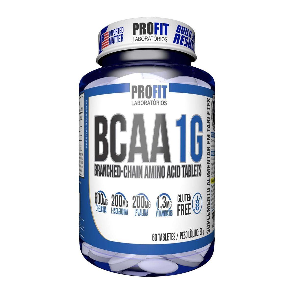 Bcaa 1g 60 tabletes - Profit