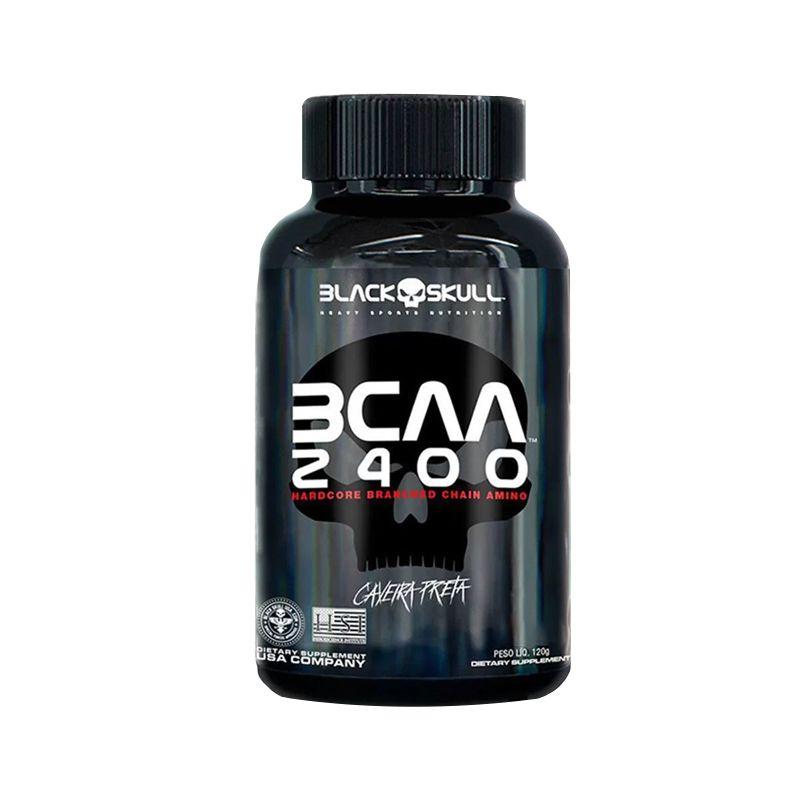 BCAA 2400 30 Caps - Black Skull