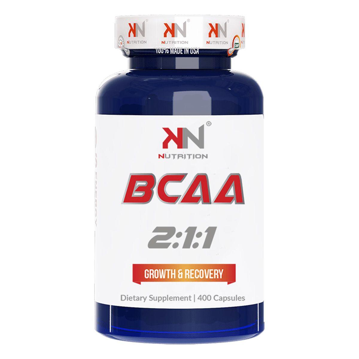 BCAA 2:1:1 - 400 Cápsulas - KN Nutrition