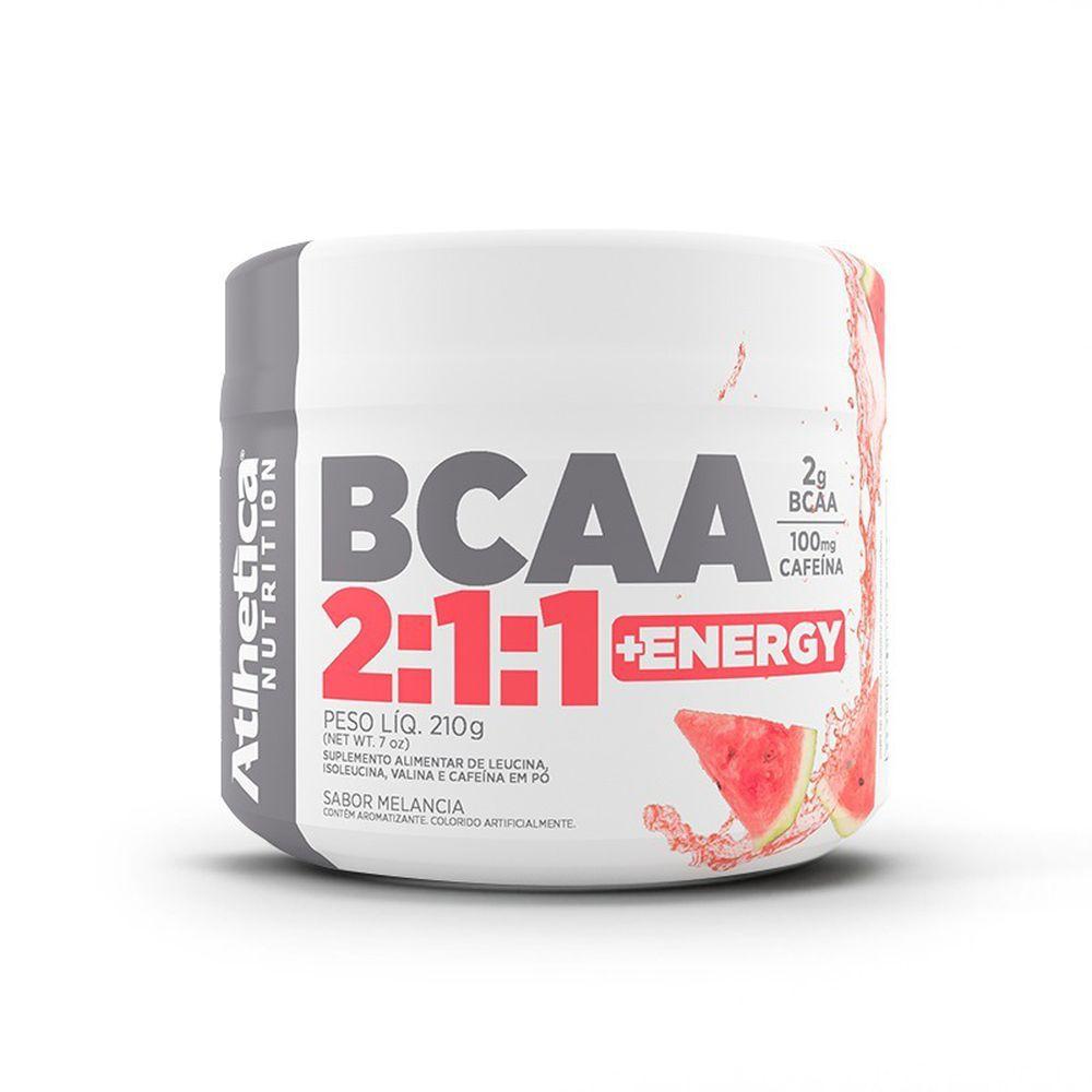 BCAA 2:1:1 Energy - 210g - Atlhetica Nutrition