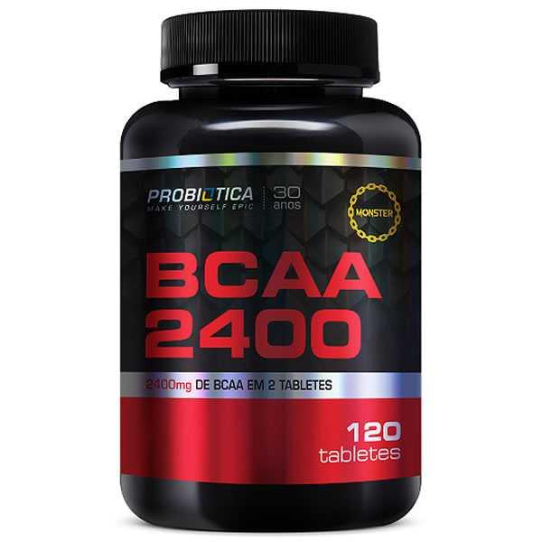 BCAA 2.400 120 Tabletes - Probiótica