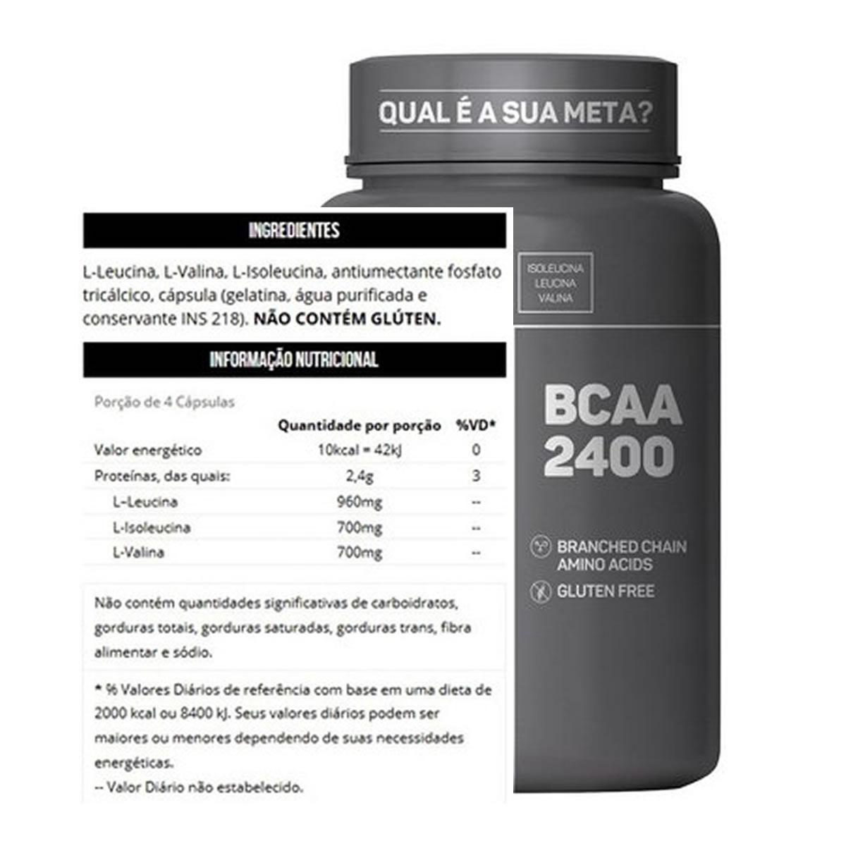 BCAA 2.400 200 Cápsulas - Max Titanium