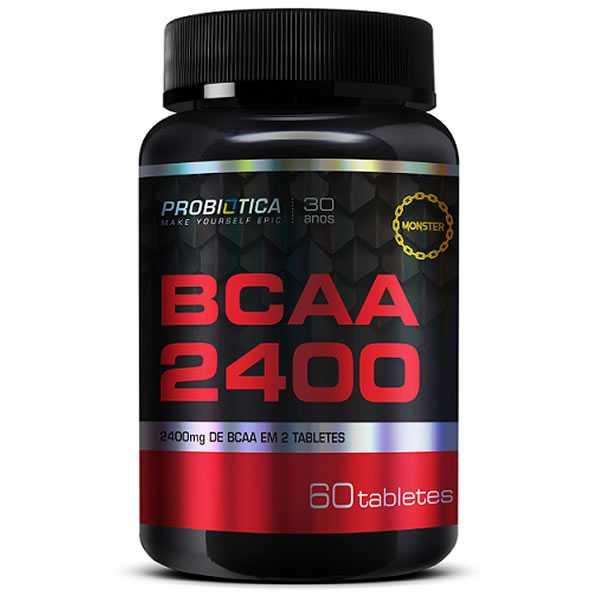 BCAA 2.400 60 Tabletes - Probiótica