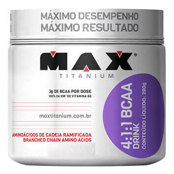 BCAA 4:1:1 Drink 280 g - Max Titanium