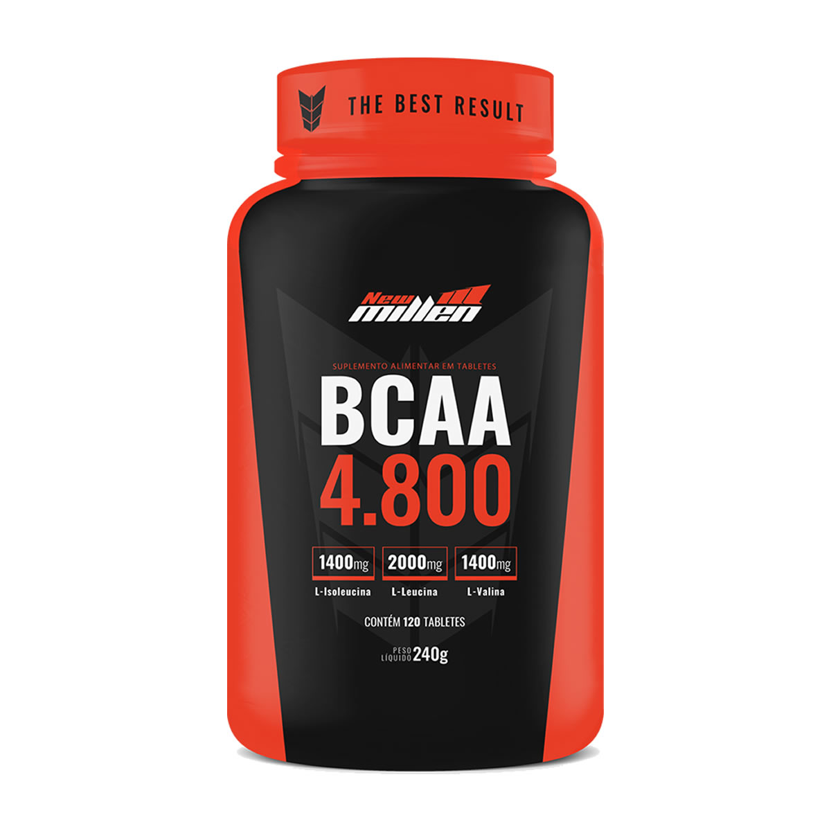 BCAA 4.800 120 tabletes - New Millen