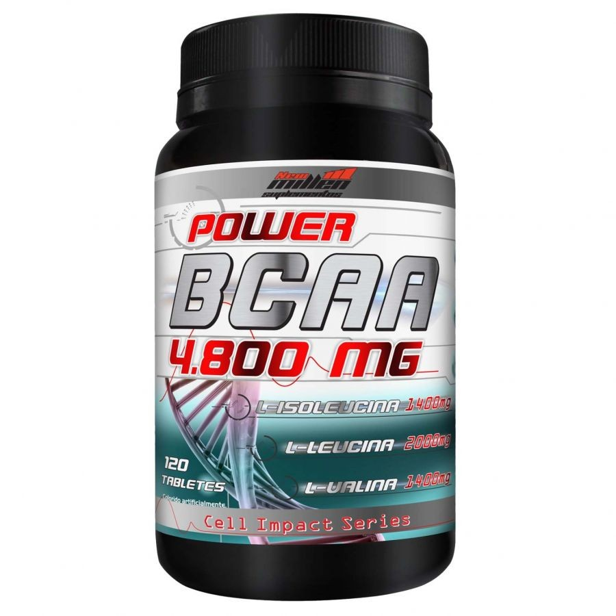 BCAA 4.800 120 Tablets - New Millen