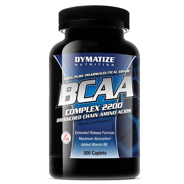 BCAA Complex 2200 200 Cápsulas - Dymatize
