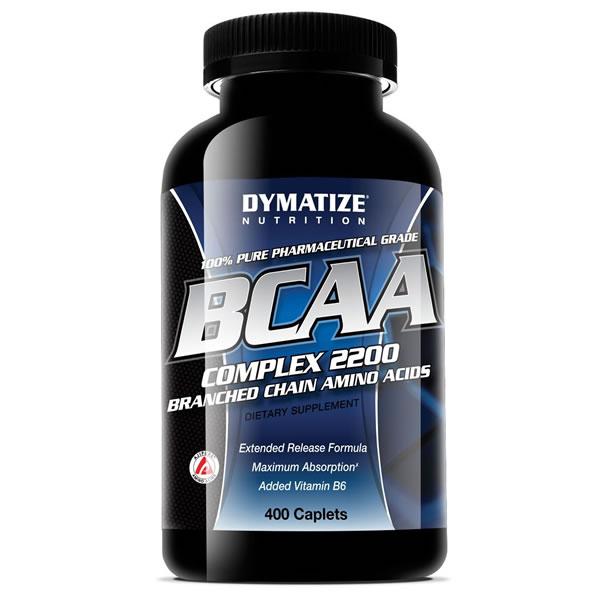 BCAA Complex 2200 400 Cápsulas - Dymatize
