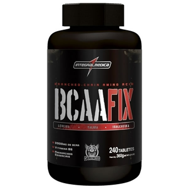 BCAA Fix 240 Tablets - Integral Médica