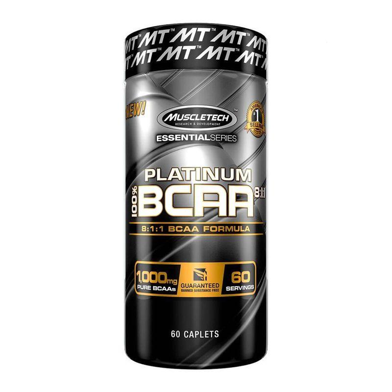 BCAA Platinum 1000mg - 60 Tabletes - Muscletech