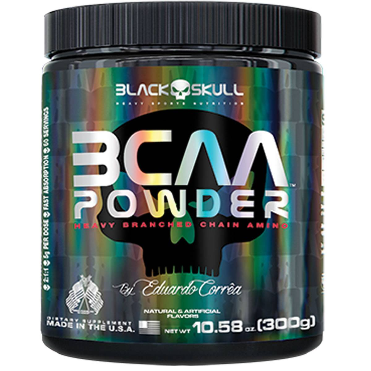BCAA Powder 300 g - Black Skull