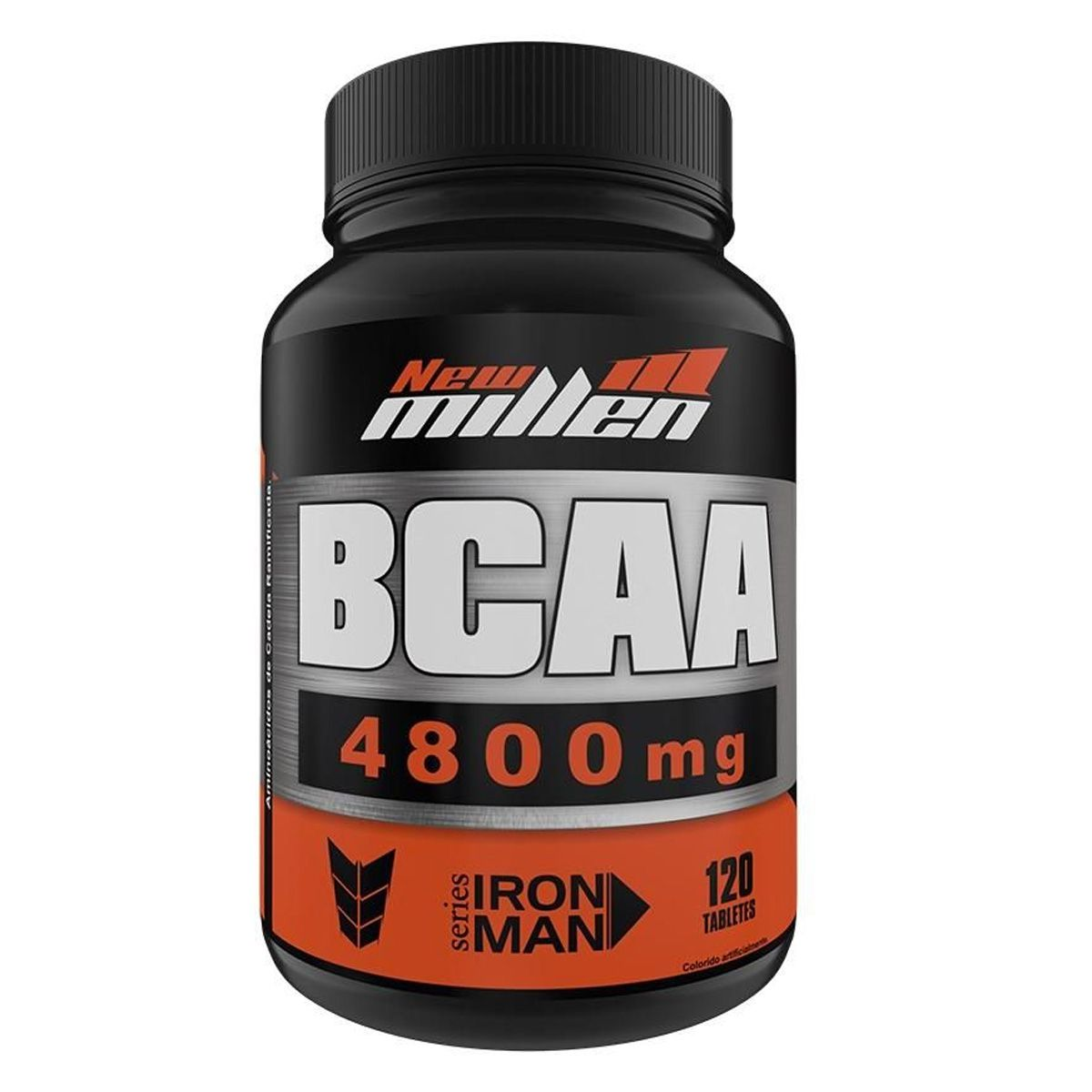 BCAA Powder 4.800 - 120 Cápsulas - New Millen
