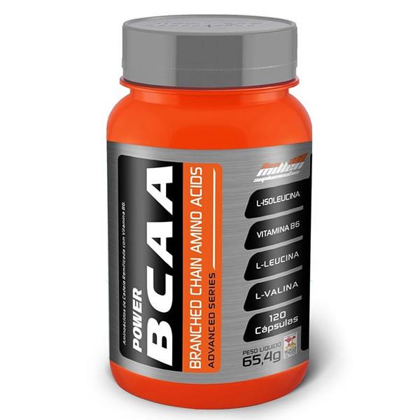 BCAA 800 mg 120 Cápsulas - New Millen
