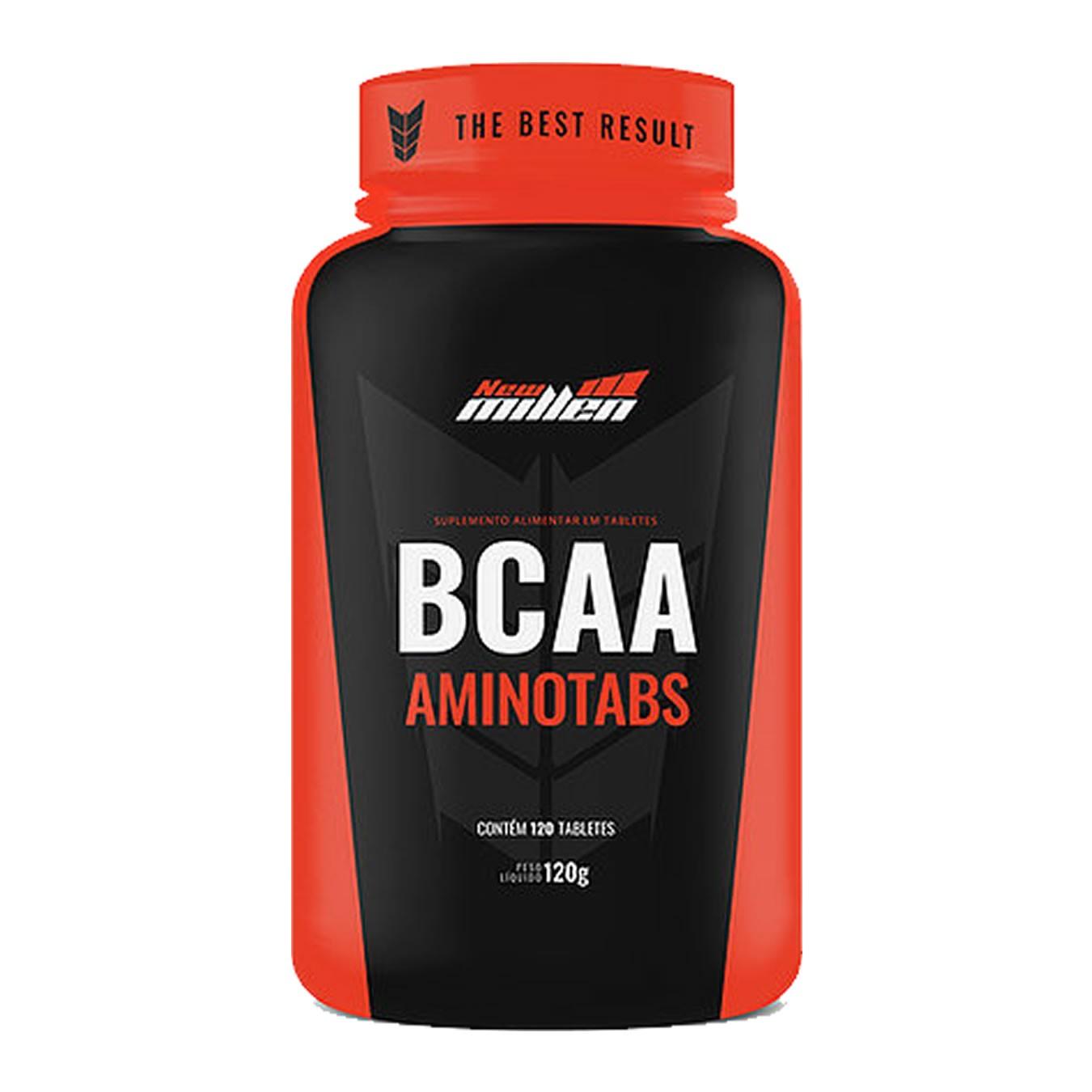 BCAA Aminotabs 120 Tabletes - New Millen