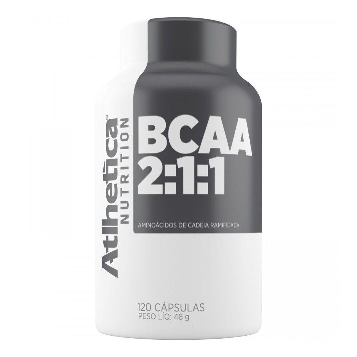BCAA Pro Series 60 Cápsulas - Atlhetica