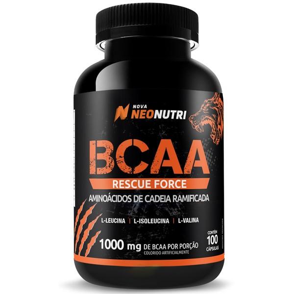 Bcaa Rescue Force 100 cápsulas - Neonutri