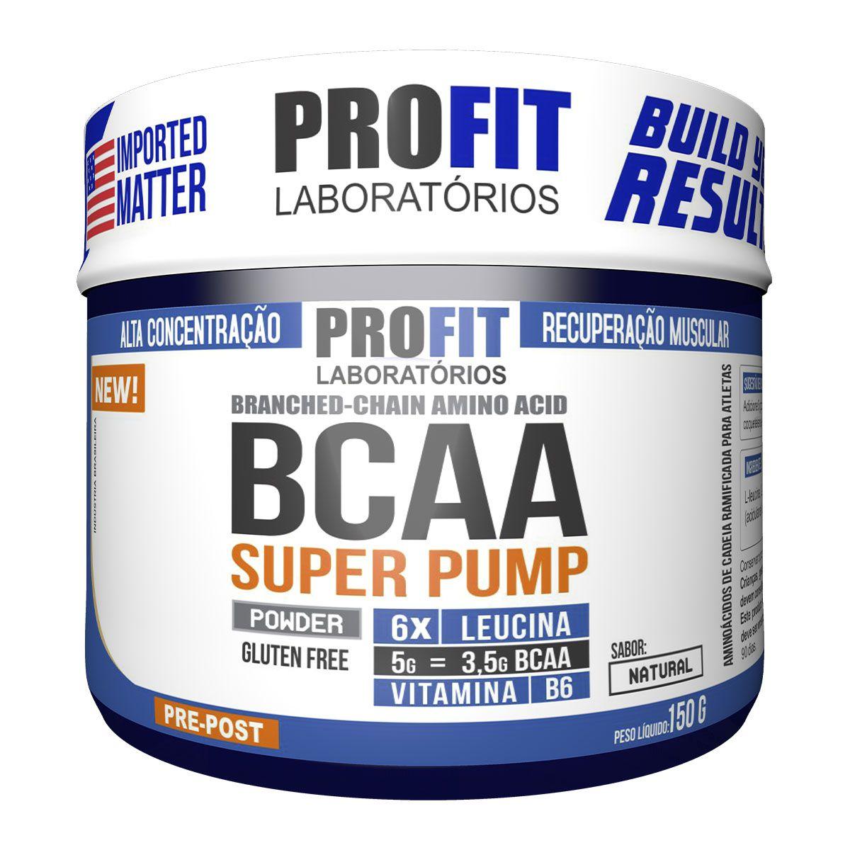 Bcaa Super Pump Powder 150g - Profit