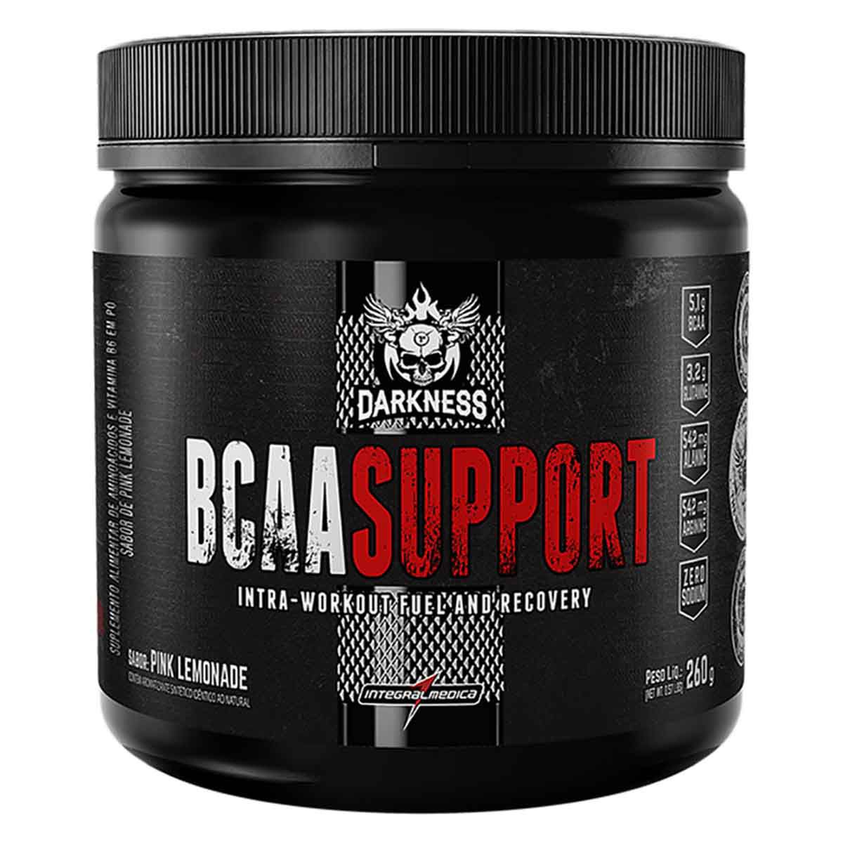 BCAA Support 260g - Integral Médica