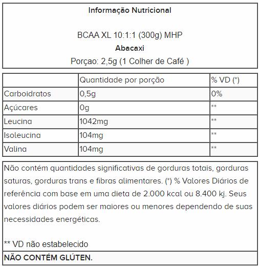 BCAA-XL 300g - MHP