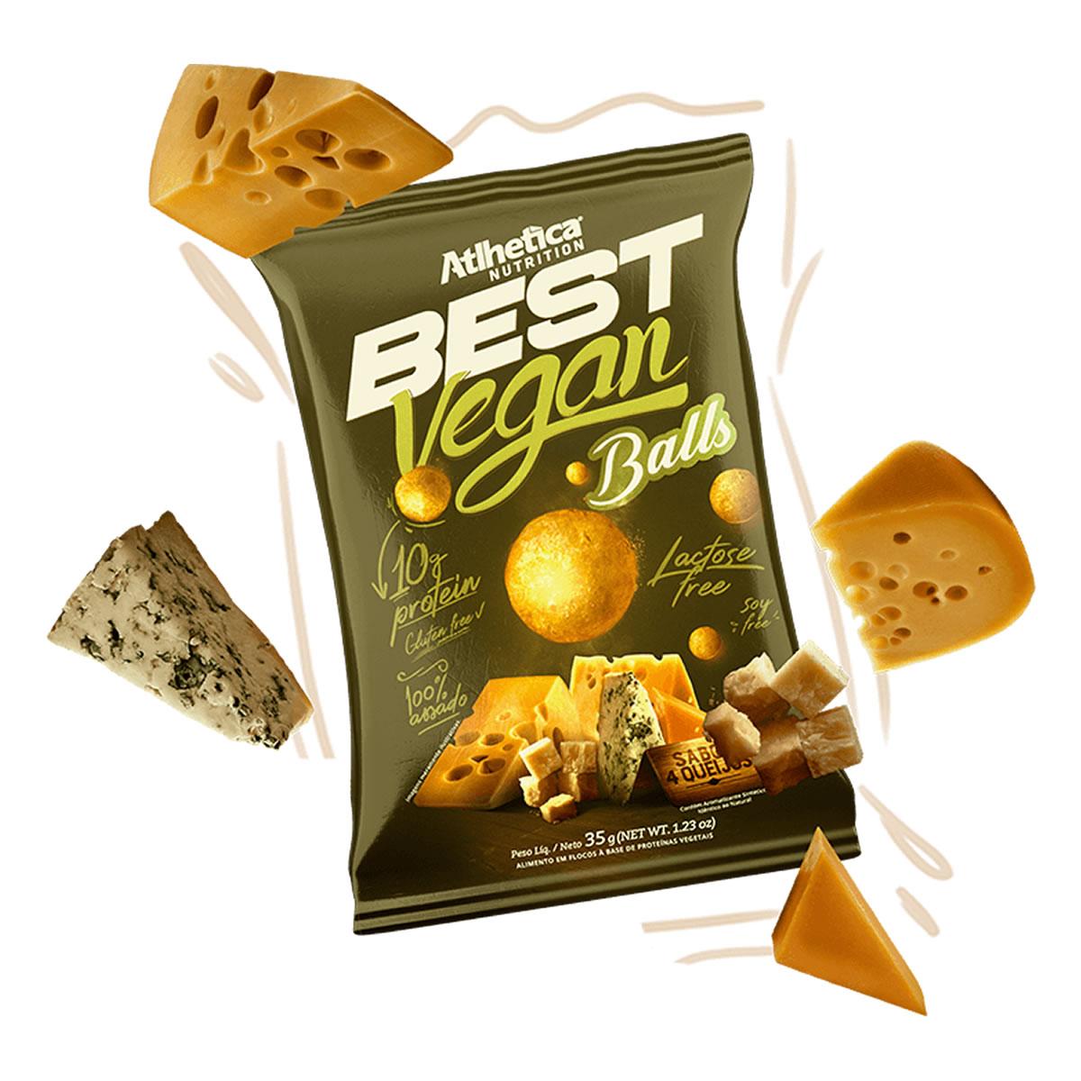 Best Vegan Balls 35g - Atlhetica Nutrition