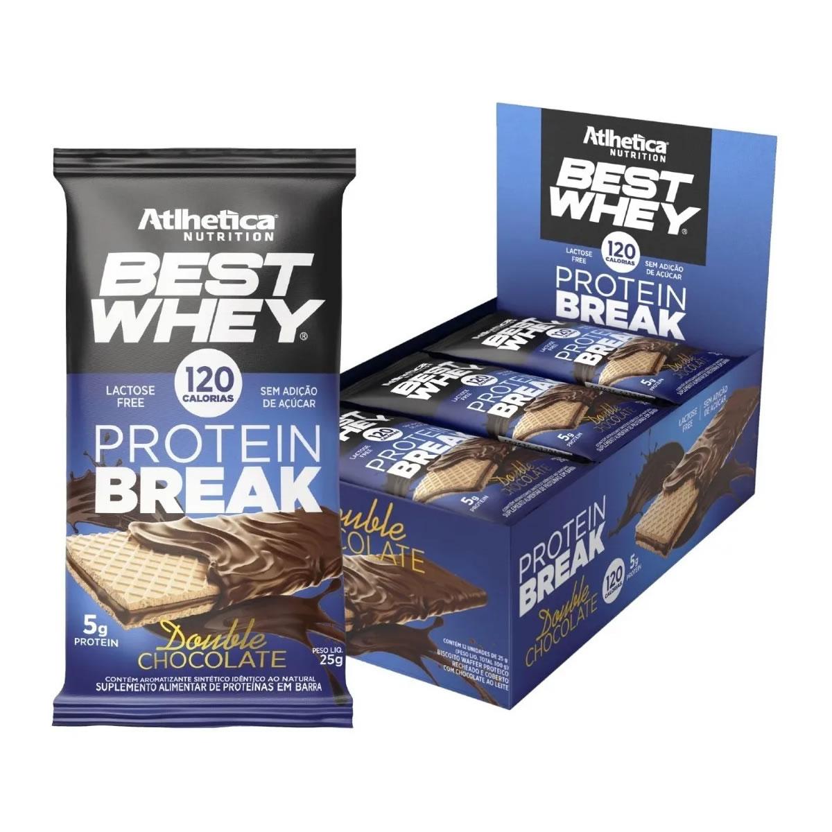 Best Whey Protein Break 12 Unidades - Atlhetica Nutrition