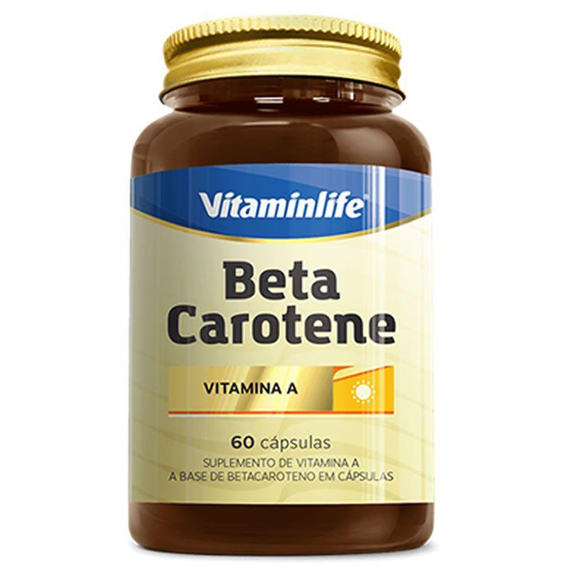 Beta Carotene 60 cápsulas - Vitamin Life
