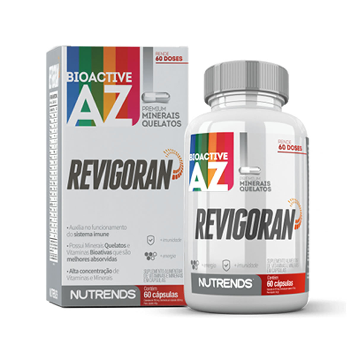 Bioactive A-Z Revigoran 60 Cápsulas - Nutrends
