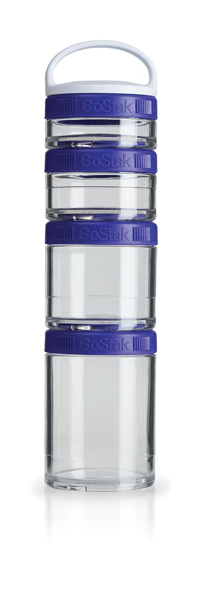 Blender Bottle GoStak - 4 Packs - Roxo