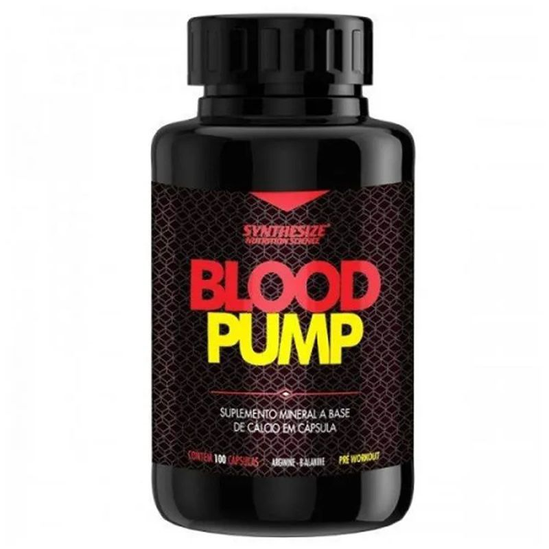 Blood Pump  100 Cápsulas - Synthesize