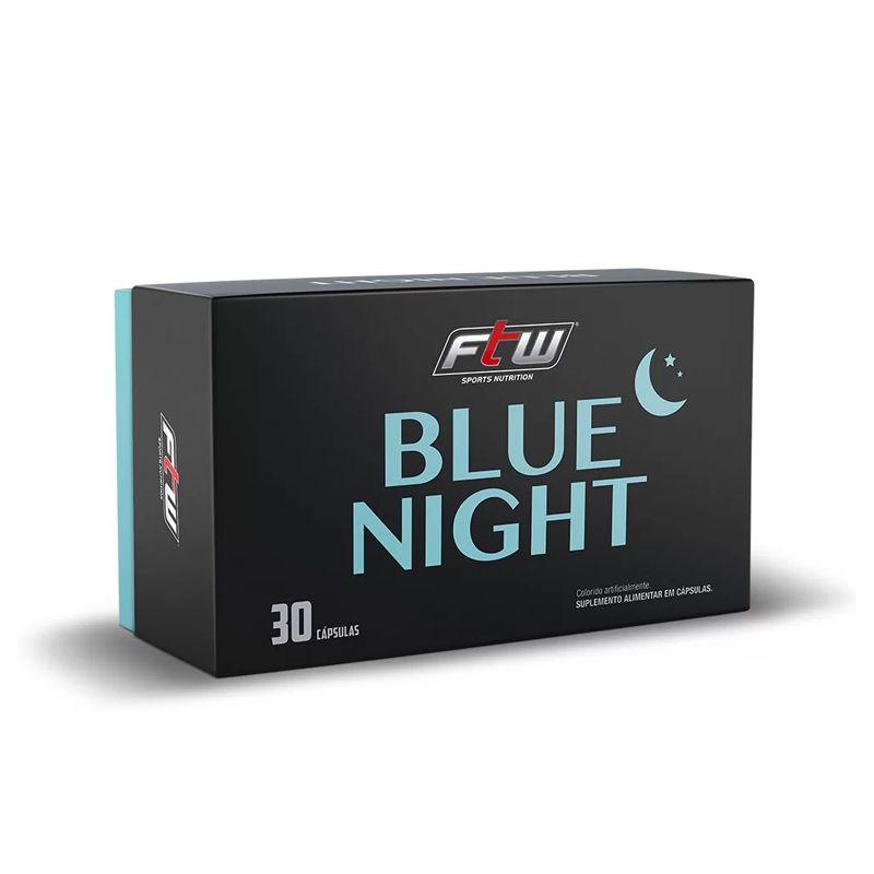 Blue Night - Blister 30 Cápsulas - FTW