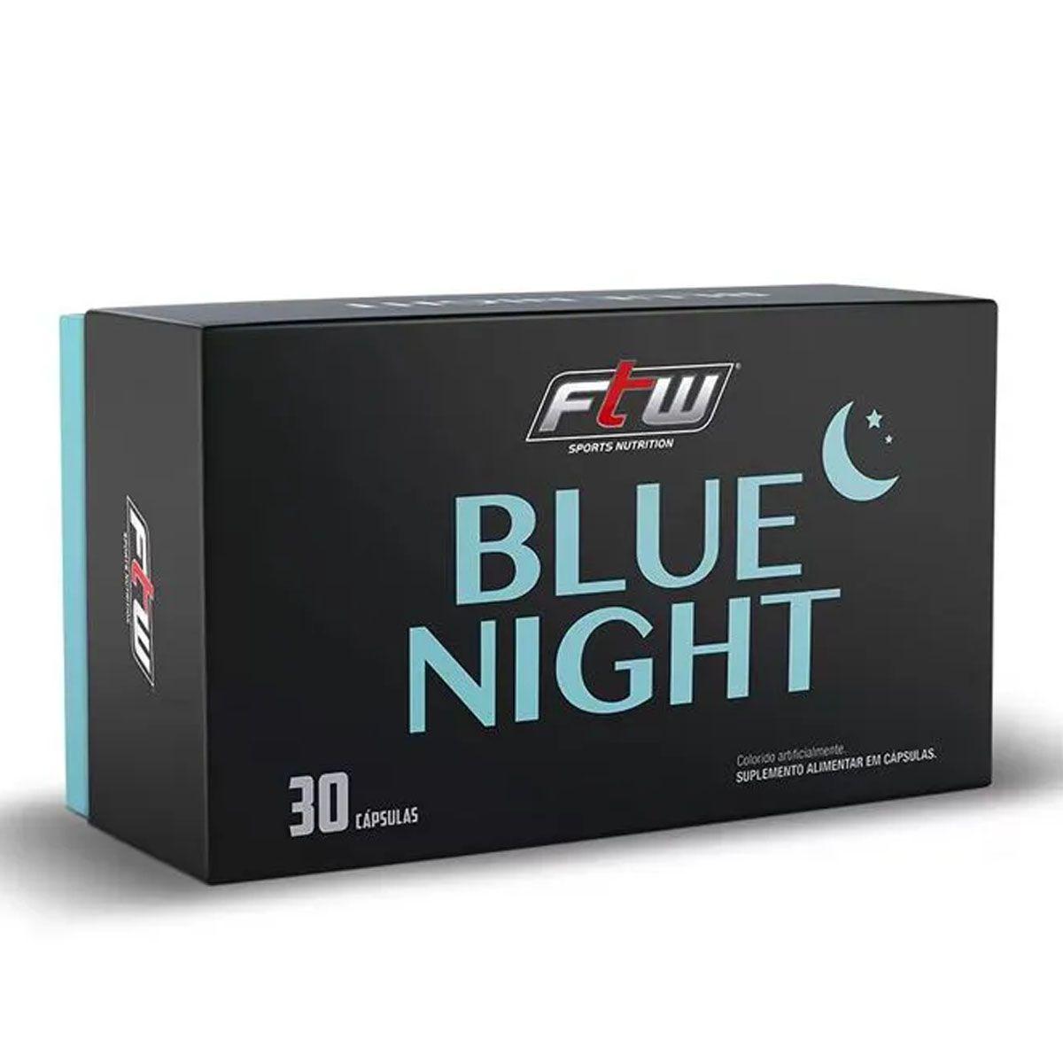 Blue Night Blister 30 cápsulas - FTW