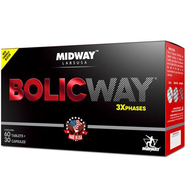 Bolic way 90 cápsulas - Midway