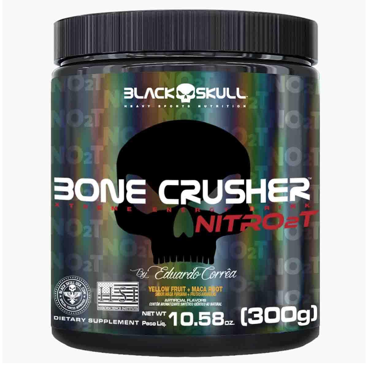 Bone Crusher Nitro 2T 300g - Black Skull