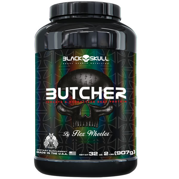 Butcher 907 g - Black Skull