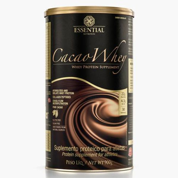Cacao Whey - 900 g - Essential Nutrition