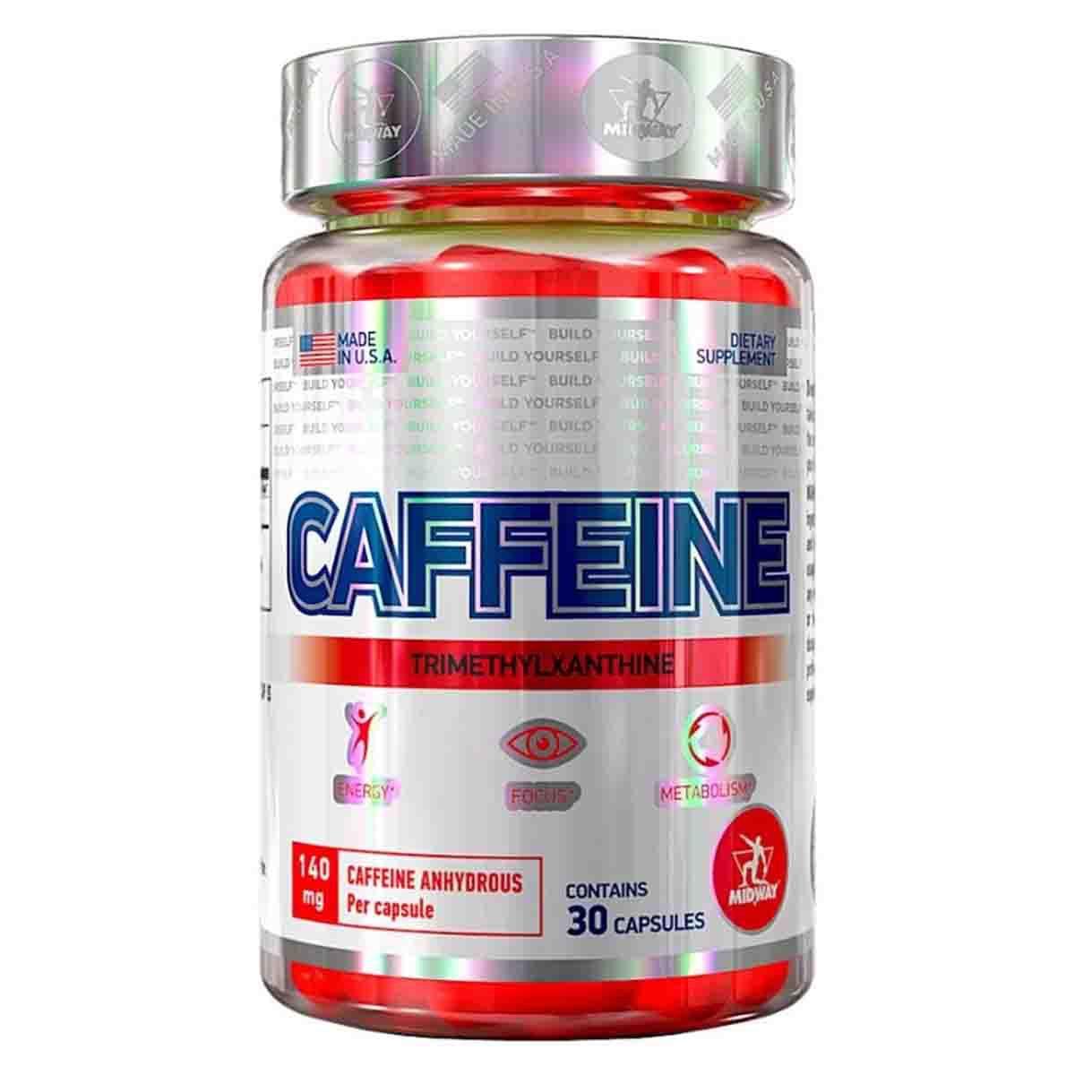 Caffeine 30 cápsulas - Midway