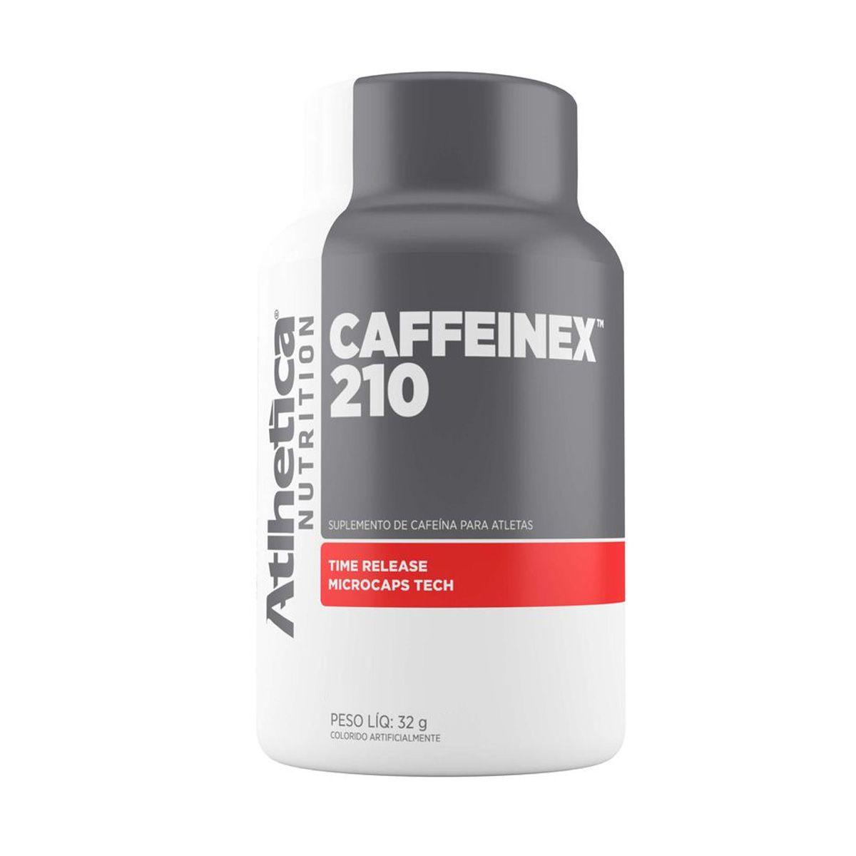 Caffeinex 210 - 90 Cápsulas - Atlhetica Nutrition