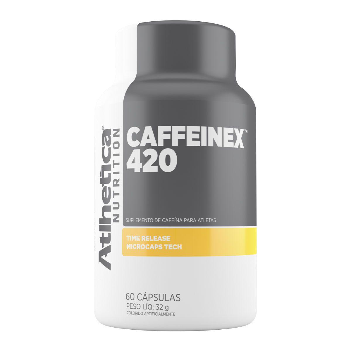 Caffeinex 420mg 60 Cápsulas - Atlhetica Nutrition